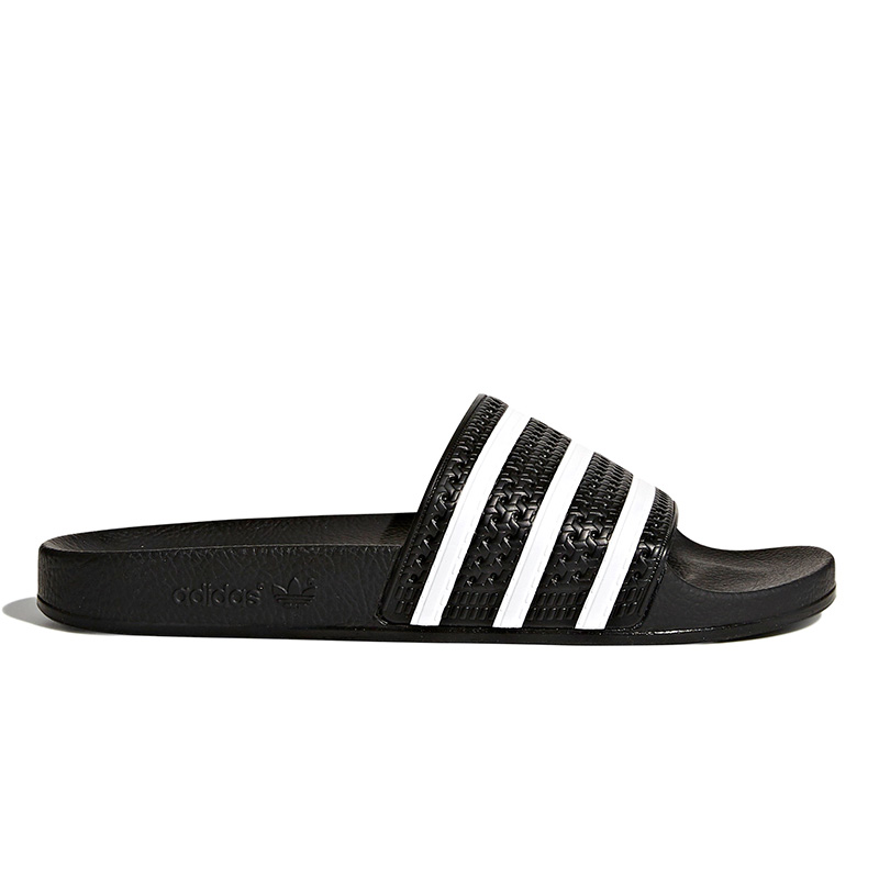 adidas Adilette Slides Cblack/White/Cblack