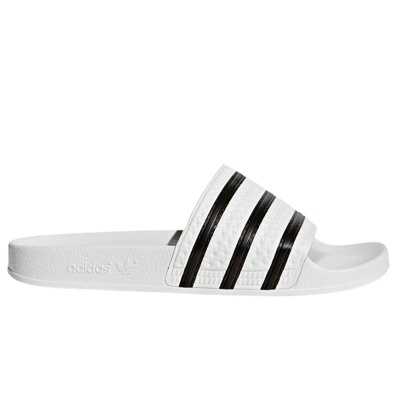 adidas Adilette Slides White/Cblack/White