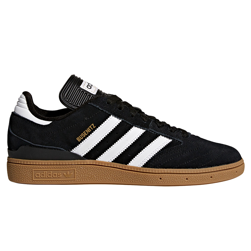 adidas Busenitz Black/Running White/Metallic Gold