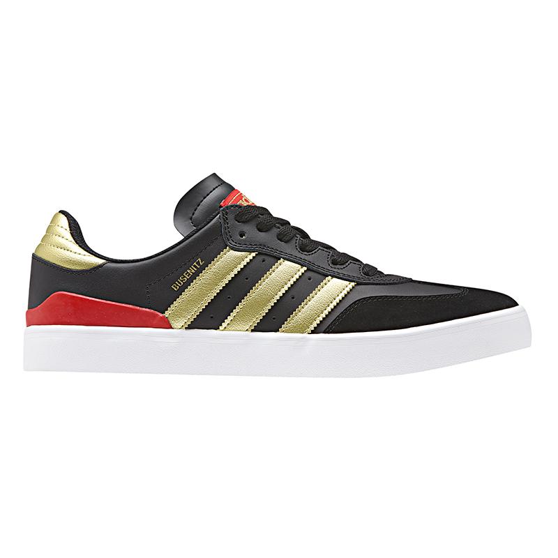 adidas Busenitz Vulc Rx Cblack/Goldmt/Scarle