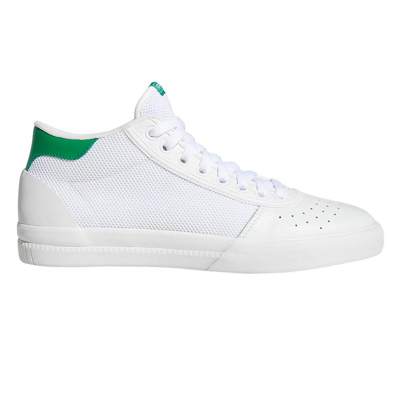 adidas Lucas Premiere Mid Ftwwht/Ftwwht/Green