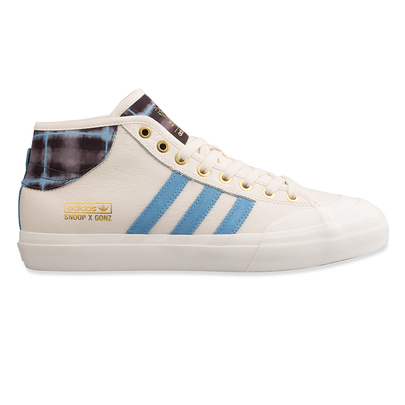 adidas Matchcourt Mid X Snoop X Gonz Cwhite/LtBlue/GoldMt