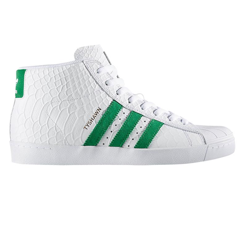 adidas Pro Model Vulc Adv Ftwwht/Green/Ftwwht
