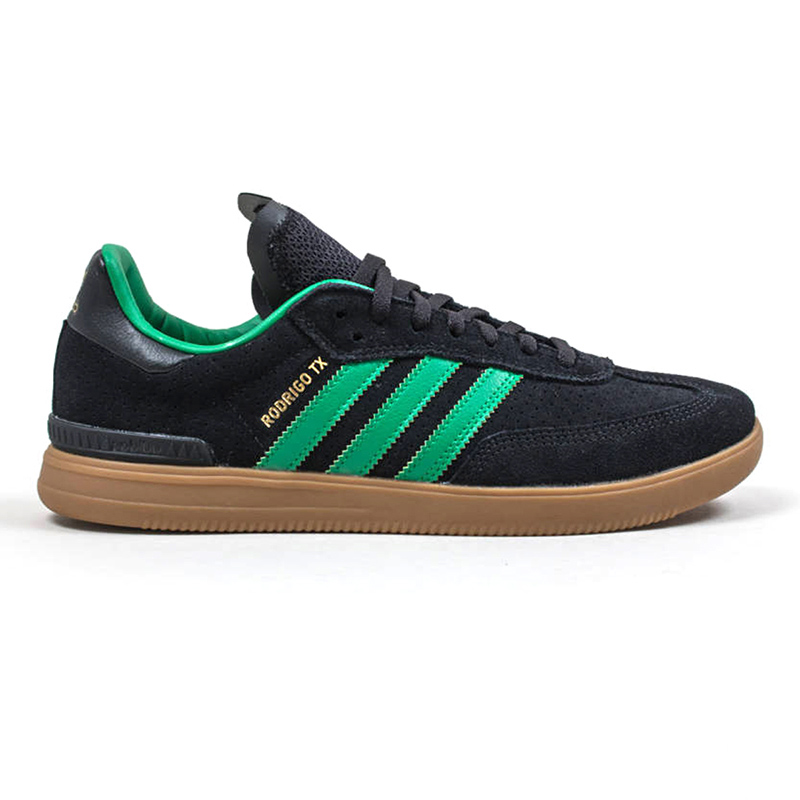 adidas samba adv cblack green gum4 mens us 10 eur 44. Black Bedroom Furniture Sets. Home Design Ideas