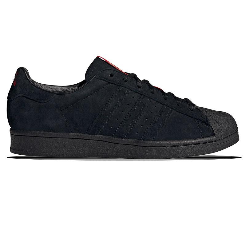adidas Superstar Adv X Thrasher Cblack/Scarle/Goldmt