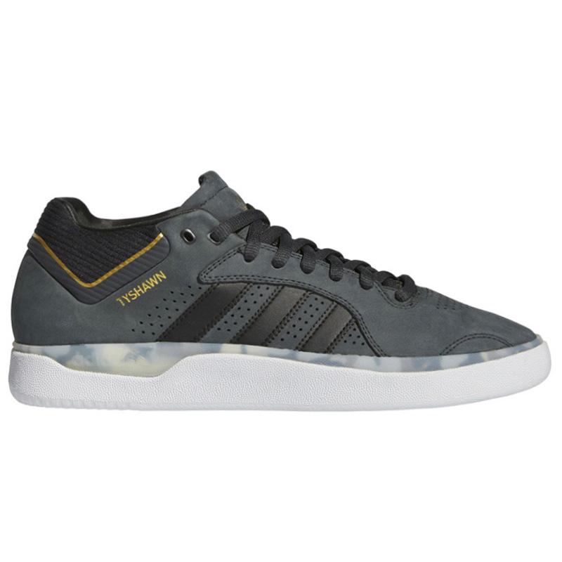 adidas Tyshawn Carbon/Cblack/Goldmt