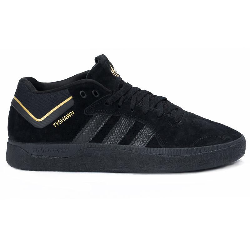 adidas Tyshawn Cblack/Cblack/Goldmt