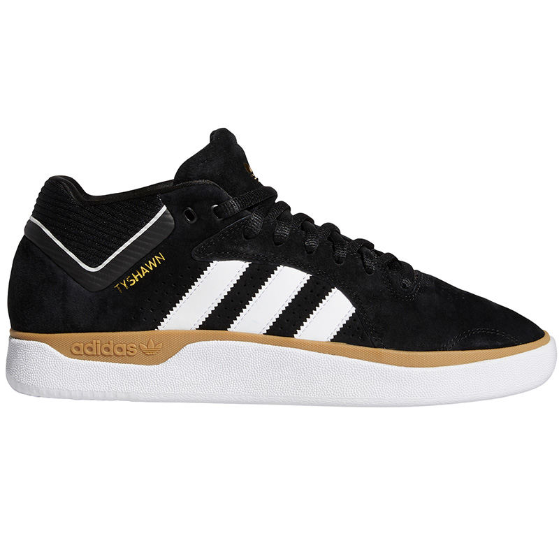 adidas Tyshawn Cblack/Ftwwht/Gum4