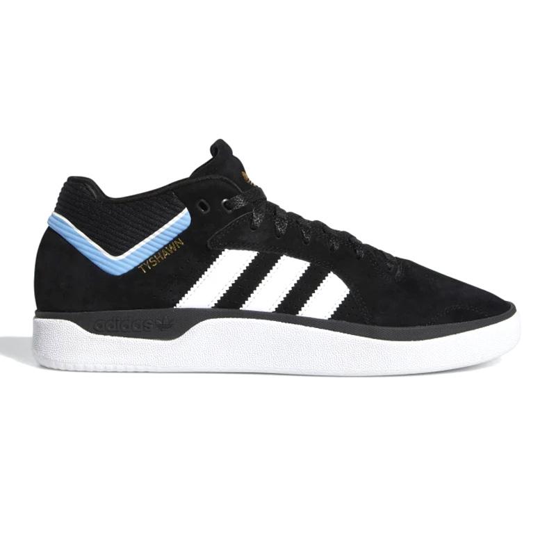 adidas Tyshawn Cblack/Ftwwht/Ltblue