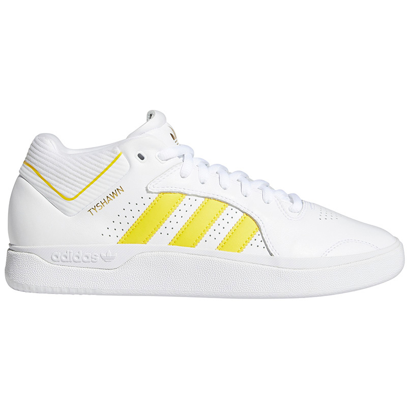 adidas Tyshawn Ftwwht/Yellow/Goldmt