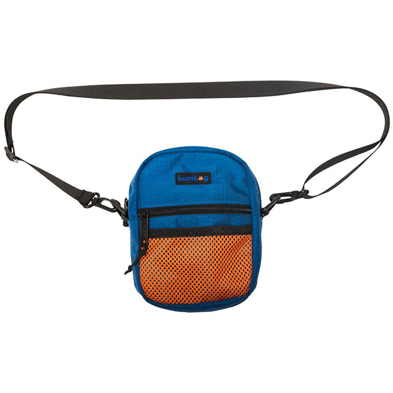 Nicks Shoulder Bag Ripstop Navy/Orange Bumbag