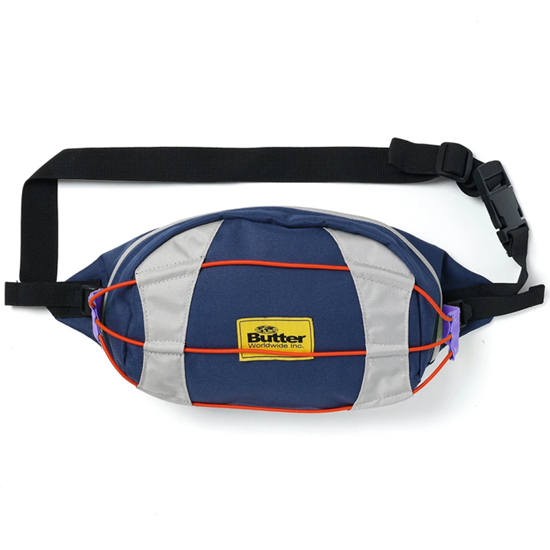 Butter Goods Canyon Technical Side Bag Navy/Grey/Purple