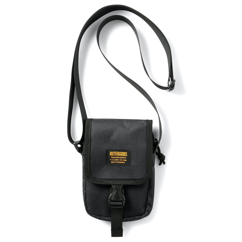 Butter Goods Side Bag Black