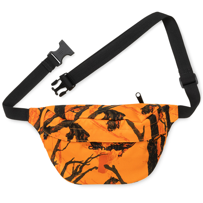 Carhartt WIP Payton Hip Bag Camo Tree Orange/Black
