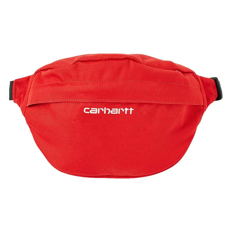 Carhartt Payton Hip Bag Cardinal/White