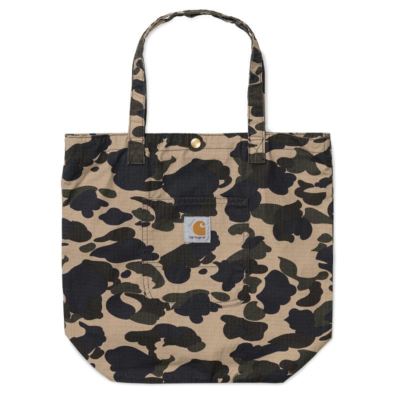 Carhartt WIP Simple Tote Bag Camo Duck