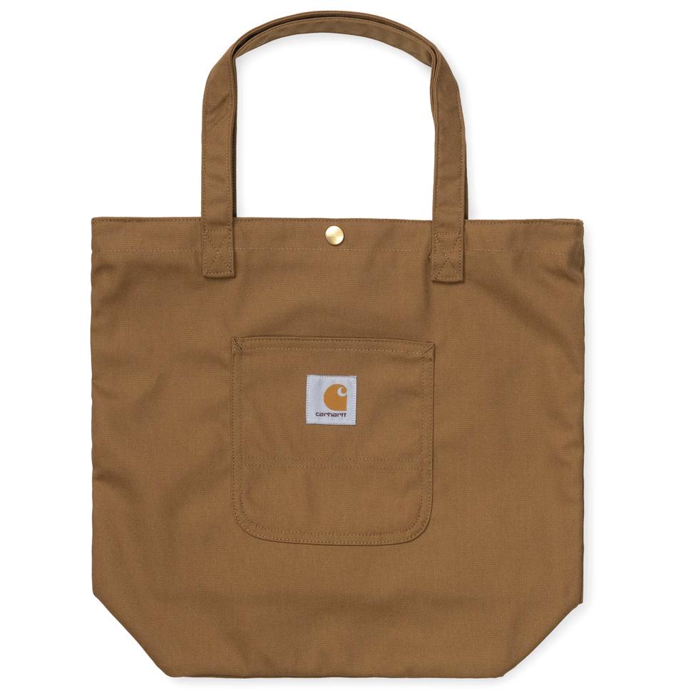 Carhartt WIP Simple Tote Bag Hamilton Brown Rigid
