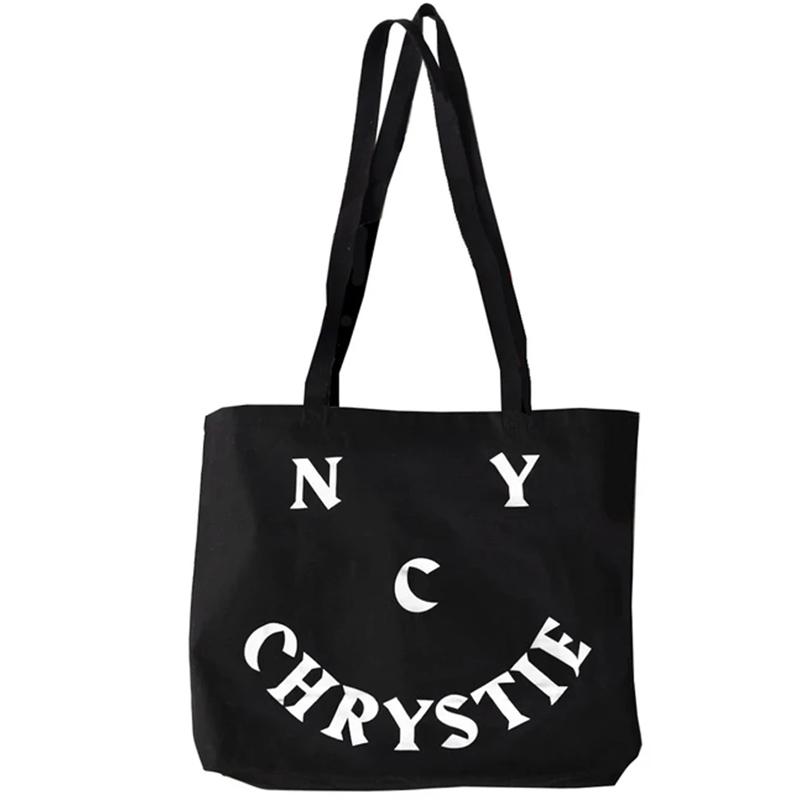 Chrystie NYC Smile Totebag Black