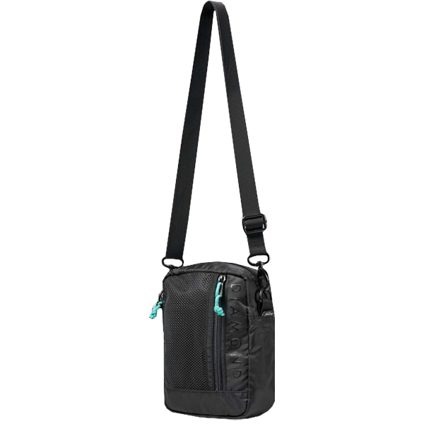 Diamond Trotter Shoulder Bag Black