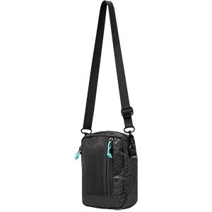 Diamond Trotter Shoulder Bag Black