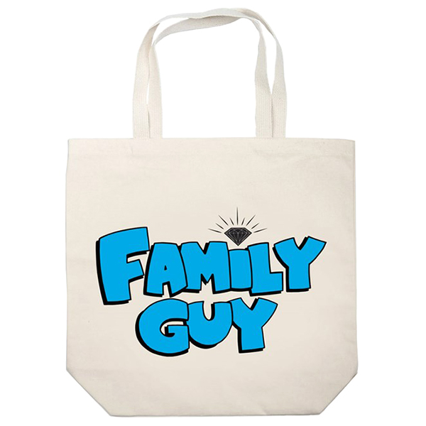 Diamond x Family Guy Tote Bag Natural