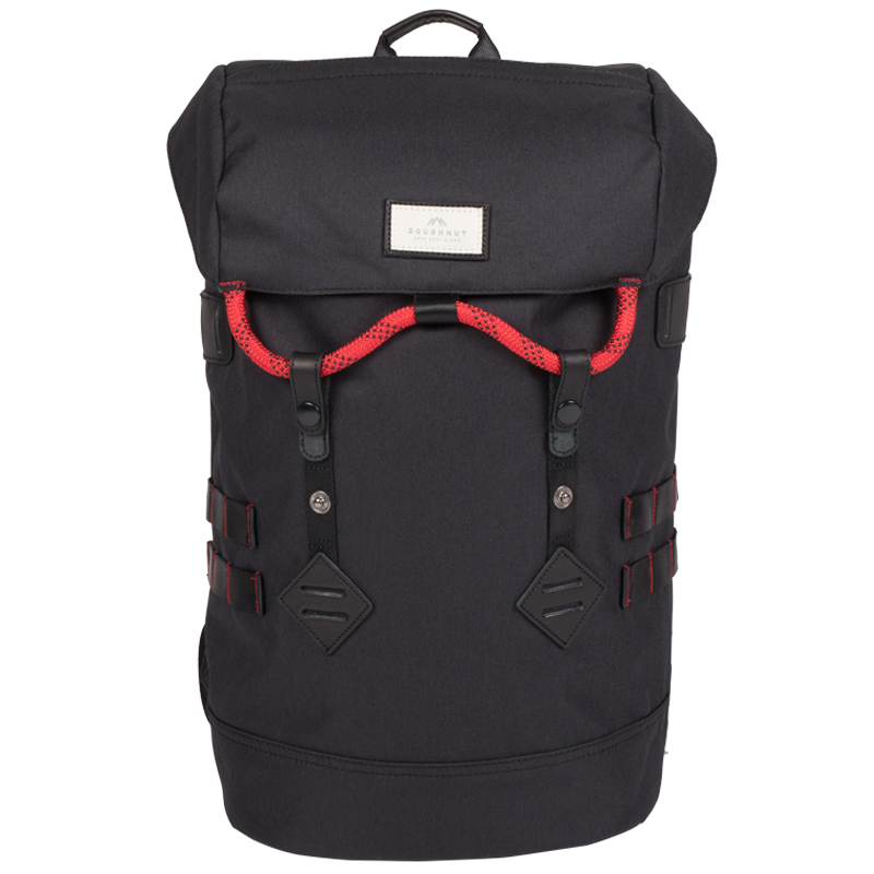 Doughnut Colorado Accents Series Backpack Black/Red