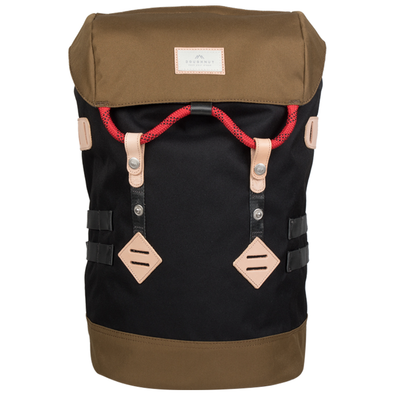 Doughnut Colorado Backpack Black/Khaki