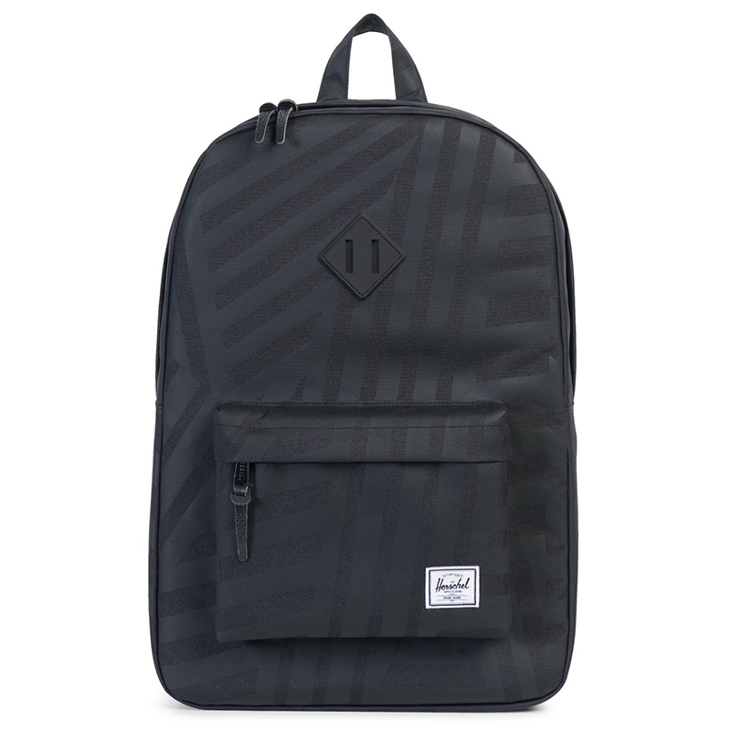 Herschel Heritage Backpack Dazzle Camo/Black Rubber