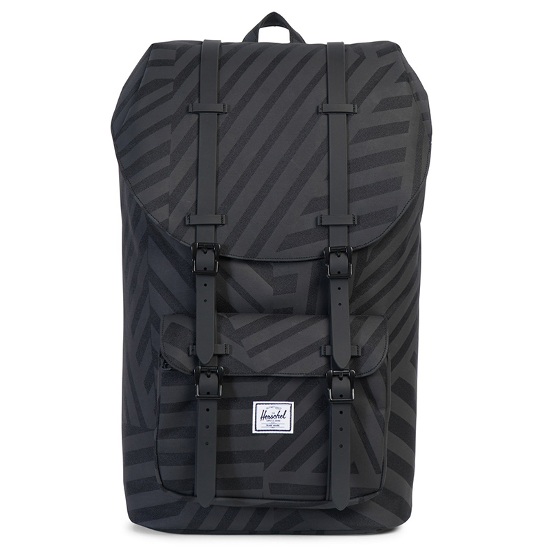 Herschel Litte America Backpack Dazzle Camo/Black Rubber