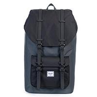 Herschel Little America Backpack Dark Shadow/Black Synthetic Leather