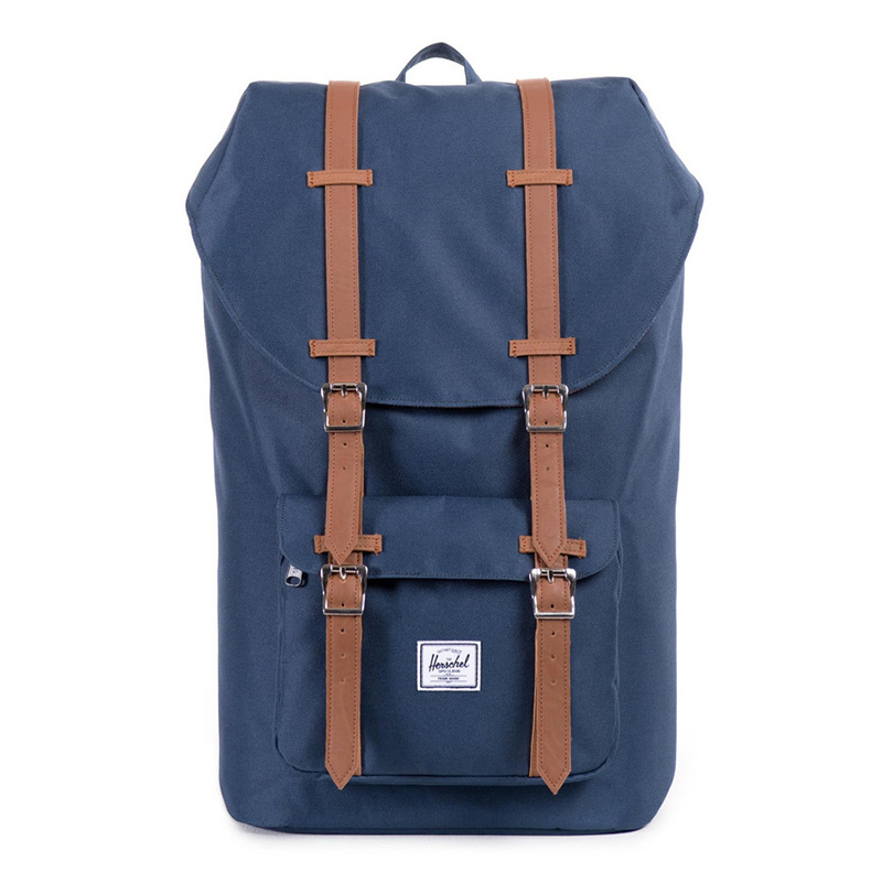 Herschel Little America Backpack Navy/Tan PU