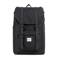Herschel Little America Mid-Volume Backpack Black/Black