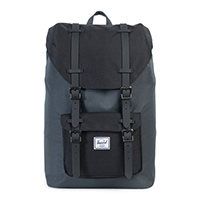 Herschel Little America Mid-Volume Backpack Dark Shadow/Black/Black Rubber