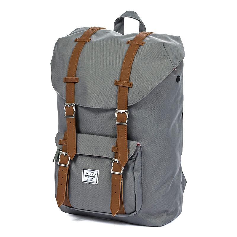 Herschel Little America Mid Volume Backpack Grey