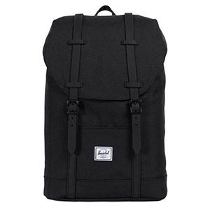 Herschel Retreat Backpack Forest Night Black Rubber