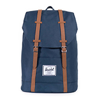 Herschel Retreat Backpack Navy/Tan PU