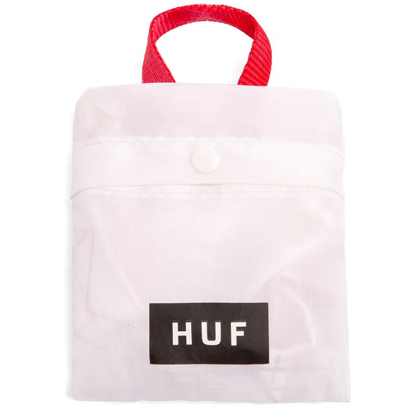 HUF Fuck It Packable Bodega Bag White