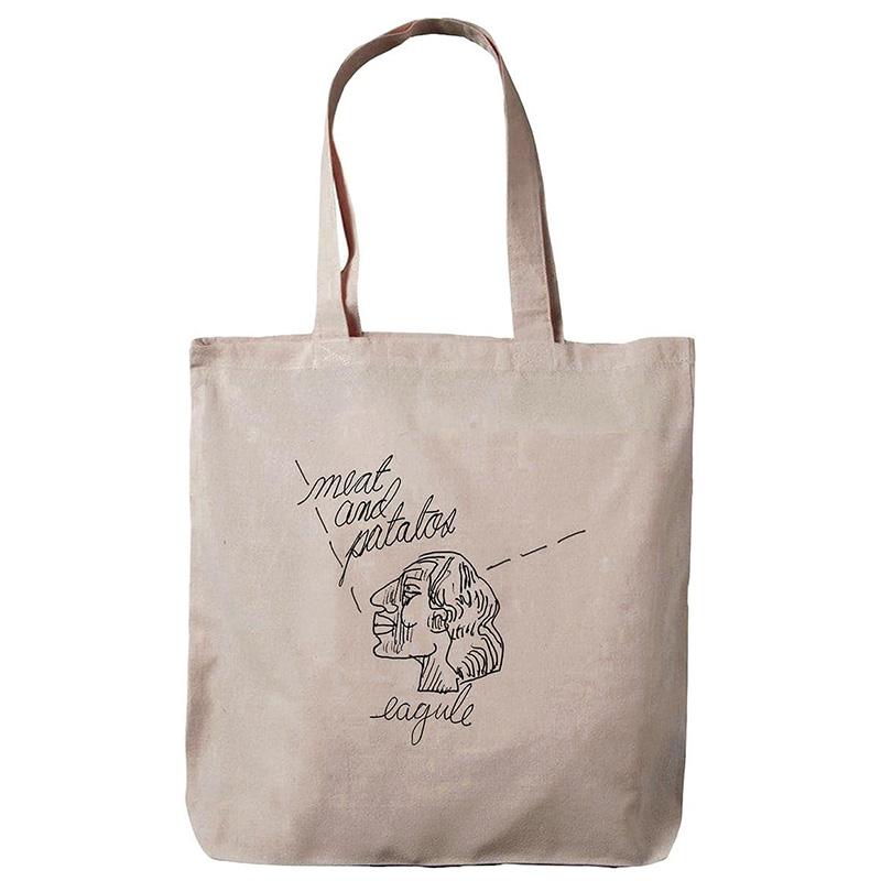 Krooked Effishant Tote Bag Natural