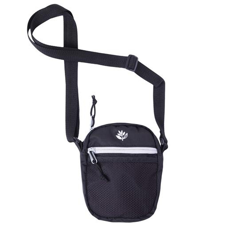 Magenta Sport Pouch Bag Black
