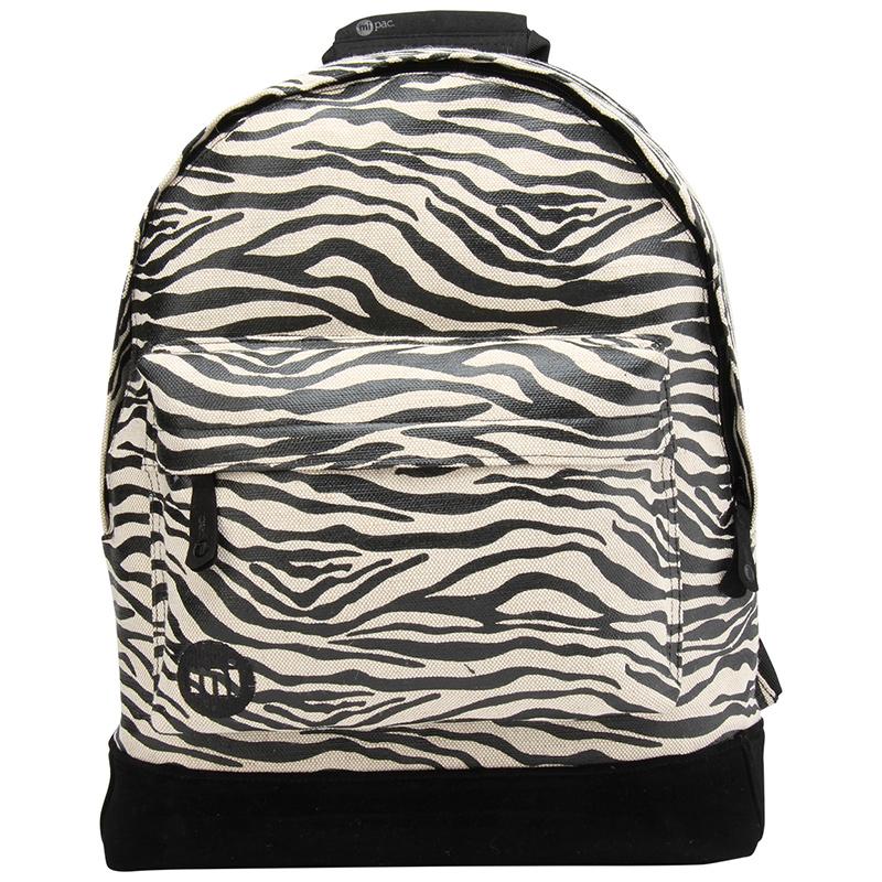 Mi-Pac Canvas Zebra Black/White