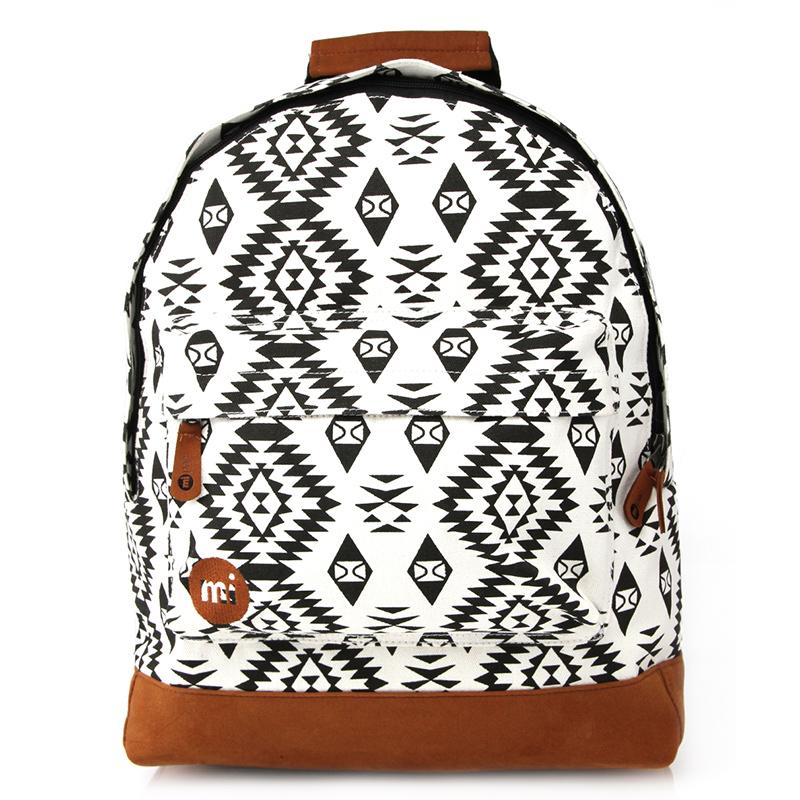 Mi-Pac Native Bag Black/White