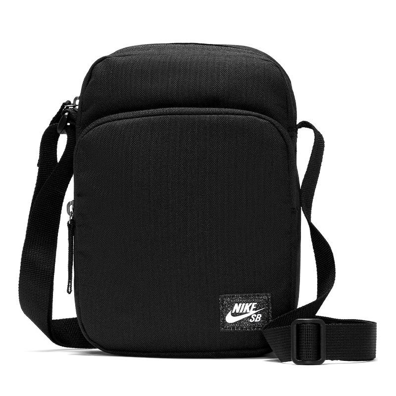 Nike SB Heritage Crossbody Waistpack Black/Black/White