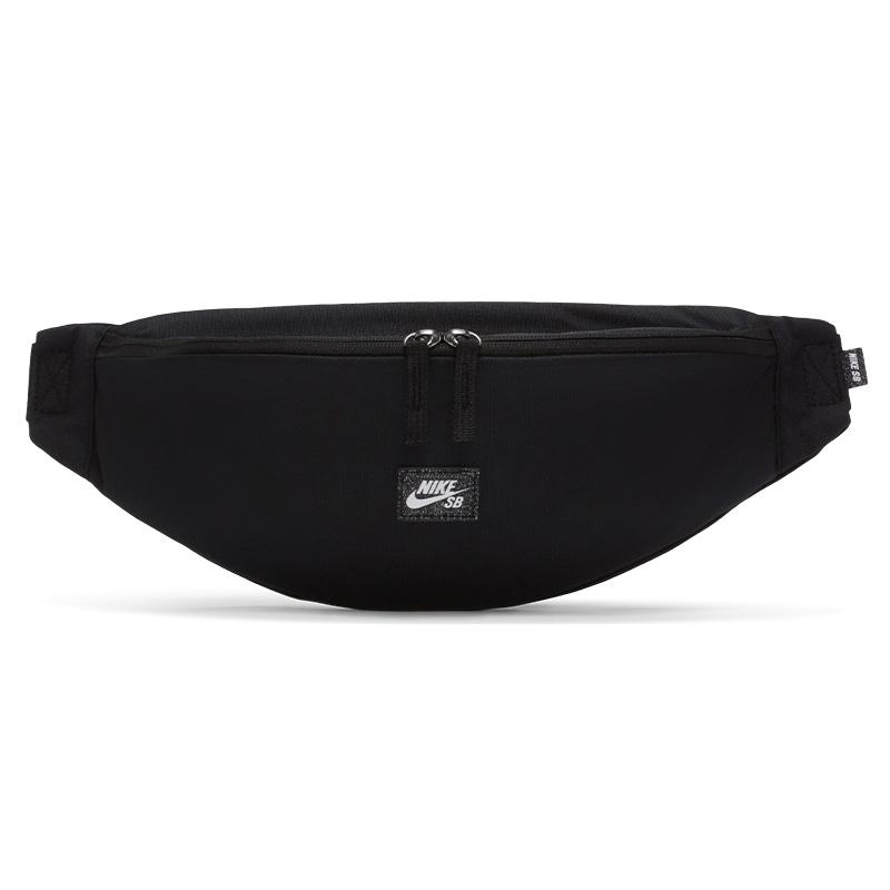 Nike SB Heritage Waistpack Black/Black/White