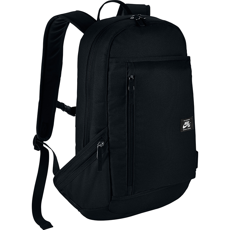 Nike SB Shelter Backpack Black/Black/White