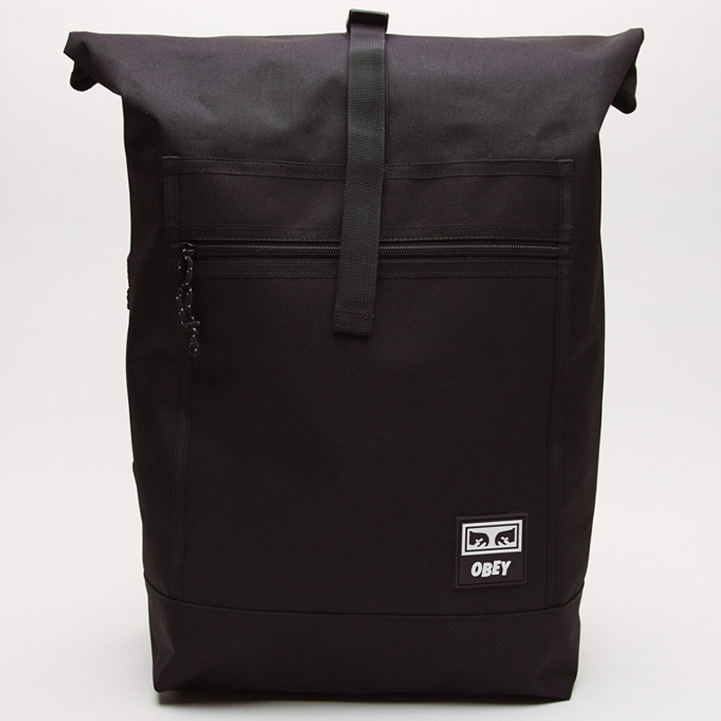 Obey Conditions Roll III Top Bag Black
