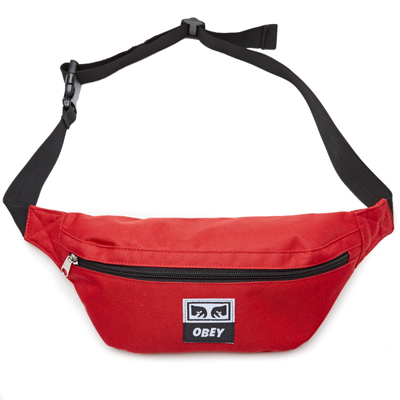 Obey Daily Sling Pack Hot Red