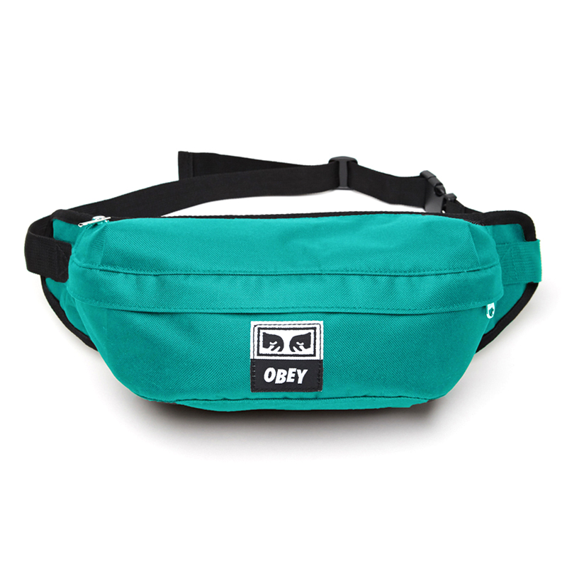 Obey Drop Out Sling Pack Teal