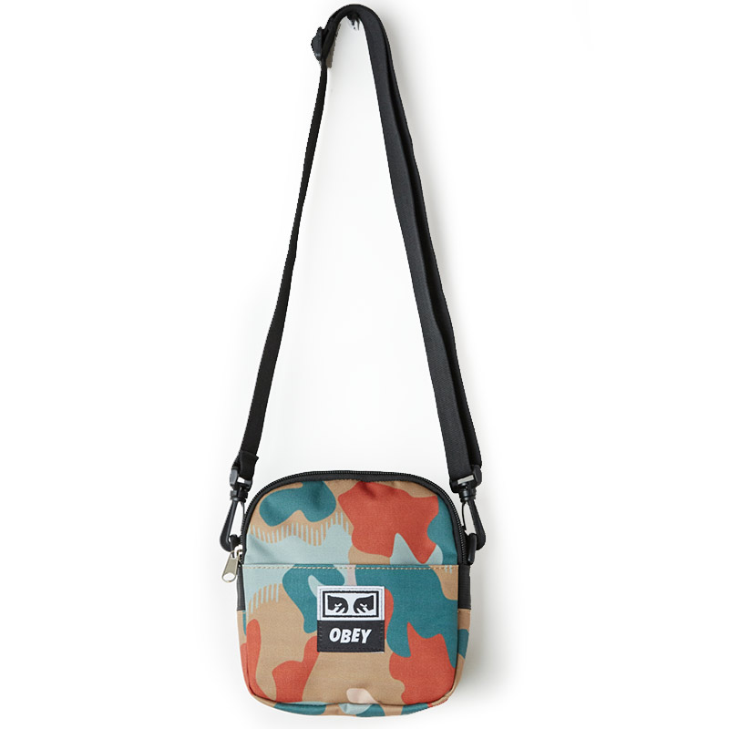 Obey Drop Out Traveler Bag Drip Camo