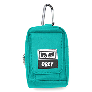 Obey Drop Out Utility Bag Teal