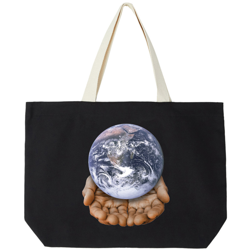 Obey Our Planet Is In Your Hands Bag Black
